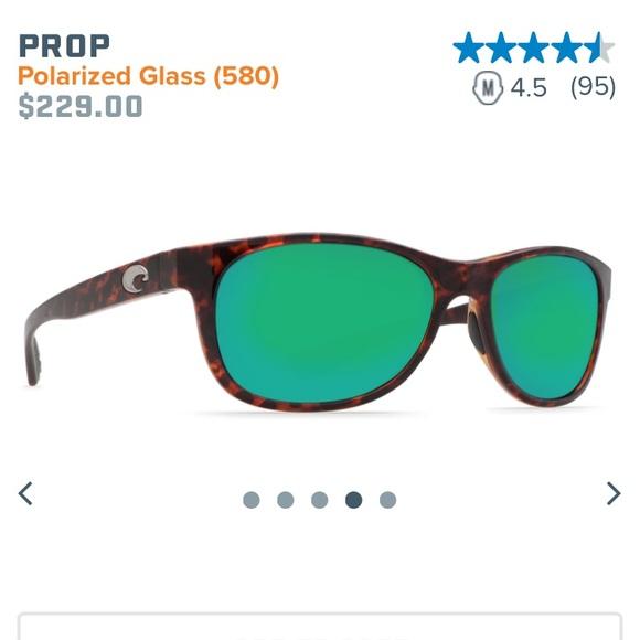 632b722a3b2 Costa Accessories - Costa Del Mar Prop 10 polarized sunglasses